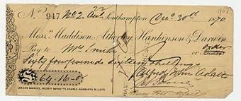Picture of Messrs Maddison, Atherley, Hankinson & Darwin, Southampton, 18(70)