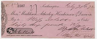Picture of Messrs Maddison, Atherley, Hankinson & Darwin, Southampton, 18(72)