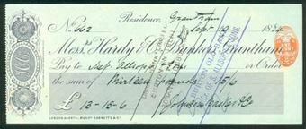 Picture of Messrs. Hardy & Co., Bankers, Grantham, 18(84)