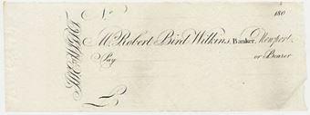 Picture of Mr. Robert Bird Wilkins, Newport I.O.W., 180-