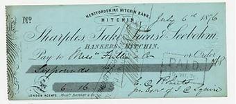 Picture of Sharples, Tuke, Lucas & Seebohm, Hitchin, 187(6)