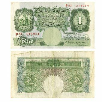 Picture of Mahon Britannia £1 (B212) FINE Condition