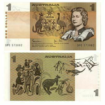 Picture of Australia, 1 dollar P42d Unc