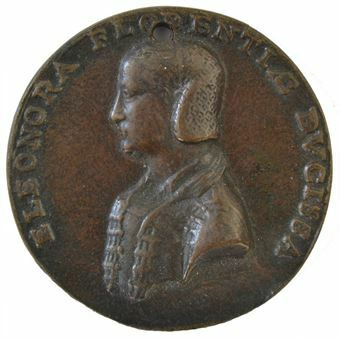 Picture of Italy, Duchess Elenora of Toledo - tribute cast in Florence c.1551