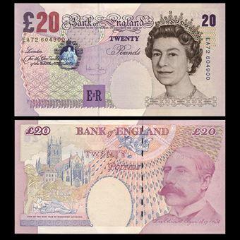 Picture of Andrew Bailey, First Elgar £20 (B402) Crisp UNC