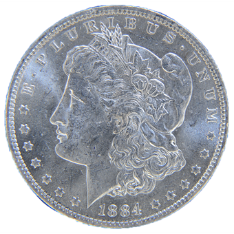 Picture of United States of America, Silver Morgan Dollar, 'O' Mintmark, BU