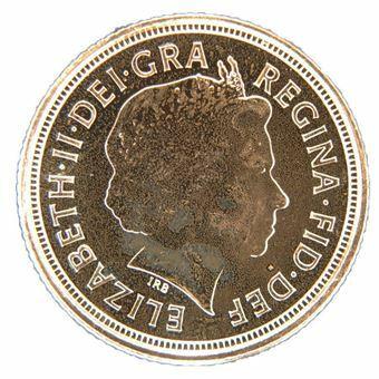 Picture of Elizabeth II, Half Sovereign, 2011 BU