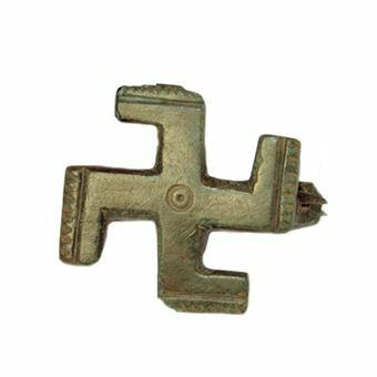 Picture of Roman, Bronze 'Swastika' Brooch, ca. 2nd. cent A.D.