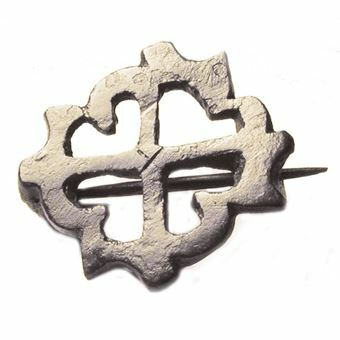 Picture of Roman, Bronze 'Cruciform' Brooch, 3rd/4th cent. A.D.