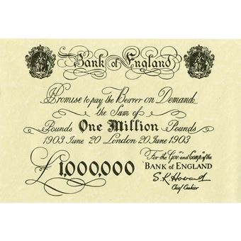 Picture of Million Pound Note