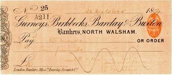 Picture of Gurneys, Birkbecks, Barclay & Buxton, North Walsham, 1890's