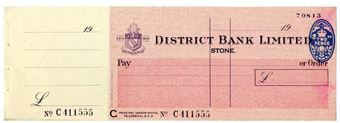 Picture of District Bank Ltd., Stone 19(47). Unissued