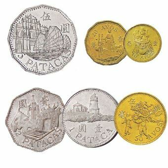 Picture of Macau, 6-coin set from 1993-2007. UNC