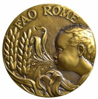 Picture of UN FAO Bronze Medal for Genetic Resources