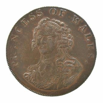 Picture of Middlesex, National Series Halfpenny Token, 1795