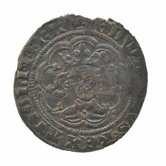 Picture of Edward III, Half Groat.