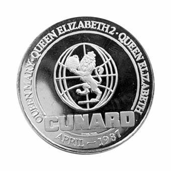 Picture of Elizabeth II, Maiden Voyage  'New 'Queen Elizabeth  Medal