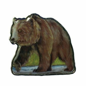 Picture of Somalia, Brown Bear $1.00 Animal Shaped