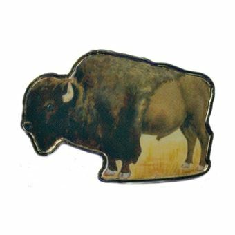 Picture of Somalia, Buffalo or Bison $1.00 Animal Shaped Coin