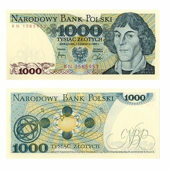 Picture of Poland, 1000 zlotych (P146). Uncirculated