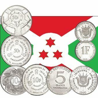 Picture of Republic of Burundi, Mint Set of 4