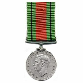 Picture of World War II Defence Medal