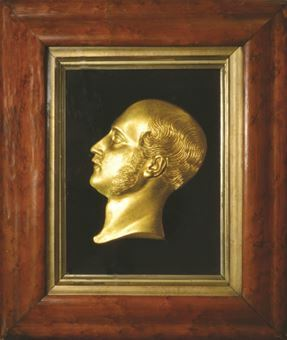 Picture of Prince Albert bust in frame