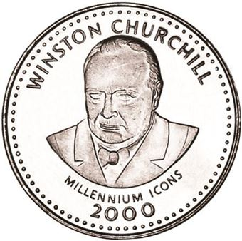 Picture of Somalia, 25 Shillings Churchill Millennium Icon