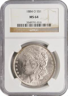 Picture of United States of America, US Morgan Silver 'O' Dollar