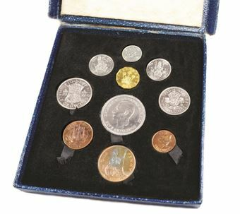 Picture of George VI, Festival of Britain Proof Set, 1951