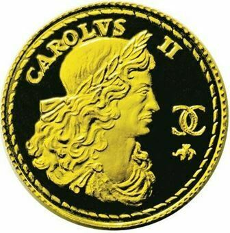Picture of Charles II 'Royal Sovereign' Gold Medal