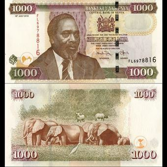Picture of Kenya 1000 Shilingi P51 (uncirculated)