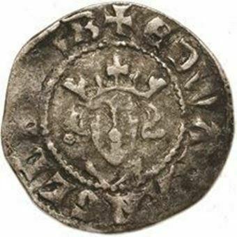 Picture of Edward I, Treasure (Canterbury) Penny 1272-1307 Fine