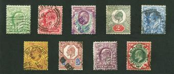 Picture of Edward VII Stamps & Coins