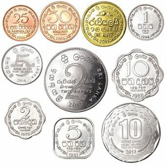 Picture of Sri Lanka, 10 Coins