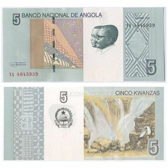Picture of Angola 5 Kwanzas 2012 P-New Never Issued Unc