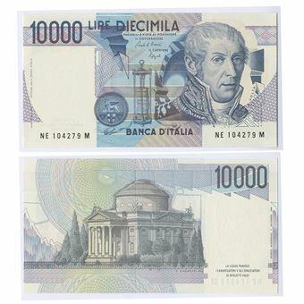 Picture of Italy, 10,000 Lire P112 Volta Unc