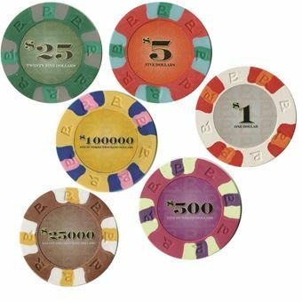 Picture of R. Casino 6x Gambling Chips