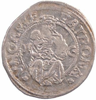 Picture of Hungary, Louis II Silver Dinar Ext Fine