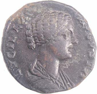 Picture of Lucilla, AD164-169, Ӕ Dupondius. Rev. VENUS
