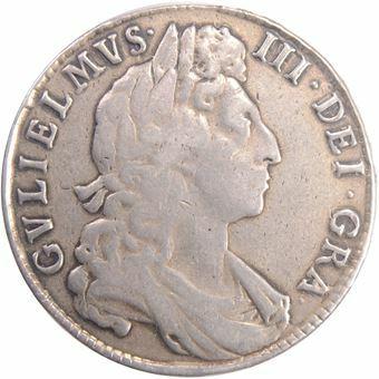 Picture of William III, Halfcrown 1698 AVF