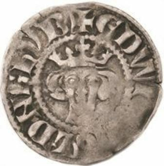 Picture of Edward I, Treasure (Durham) Penny 1272-1307 Fine
