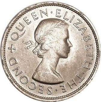 Picture of New Zealand, 1953 Crown Unc