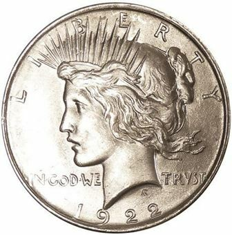 Picture of United States of America, 1923 Peace Dollar BU