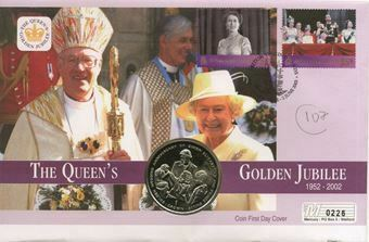 Picture of Golden Jubilee Gibraltar Crown Cover