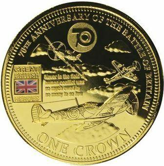 Picture of Tristan da Cunha, 70th Anniversary Battle of Britain Crown