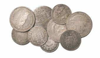 Picture of British Silver Shilling Token