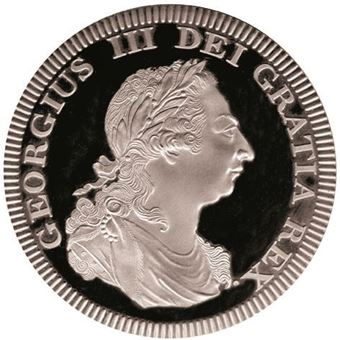 Picture of George III, Wales Patina Silver