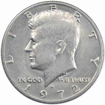 Picture of United States of America, 1972 Denver Kennedy Half Dollar Unc
