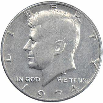 Picture of United States of America, 1974 Philadelphia Kennedy Half Dollar Unc